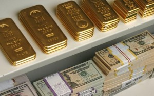 gold-bars-us-dollar-bills